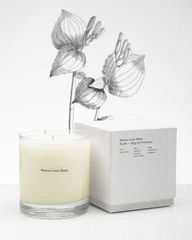 No.06 Neige de Printemps Candle