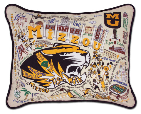MISSOURI, UNIVERSITY OF (MIZZOU) Pillow