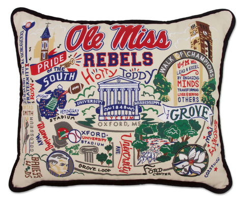MISSISSIPPI, UNIVERSITY OF (OLE MISS) Pillow