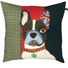 Pierre The French Bulldog Hand Made Pillow