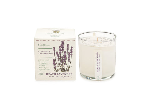 Heath Lavender Soy Candle
