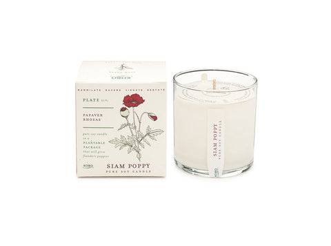 Siam Poppy Soy Candle