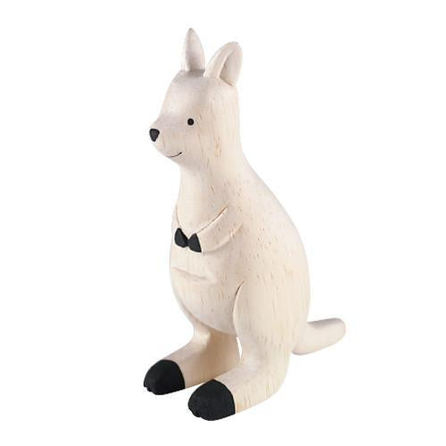 Hand Carved Wooden KANGAROO
