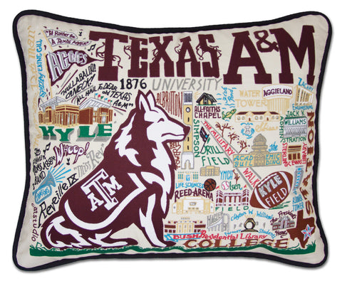 TEXAS A&M UNIVERSITY Pillow