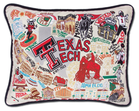 TEXAS TECH UNIVERSITY Pillow