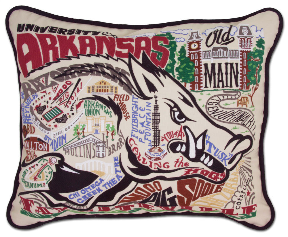 ARKANSAS UNIVERSITY Pillow