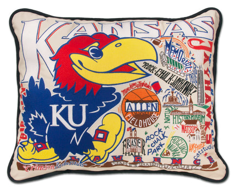 KANSAS, UNIVERSITY Pillow