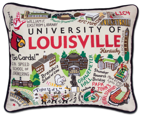 LOUISVILLE, UNIVERSITY Pillow