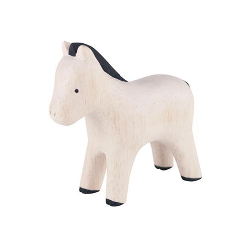 Hand Carved Wooden Horse/ Pony