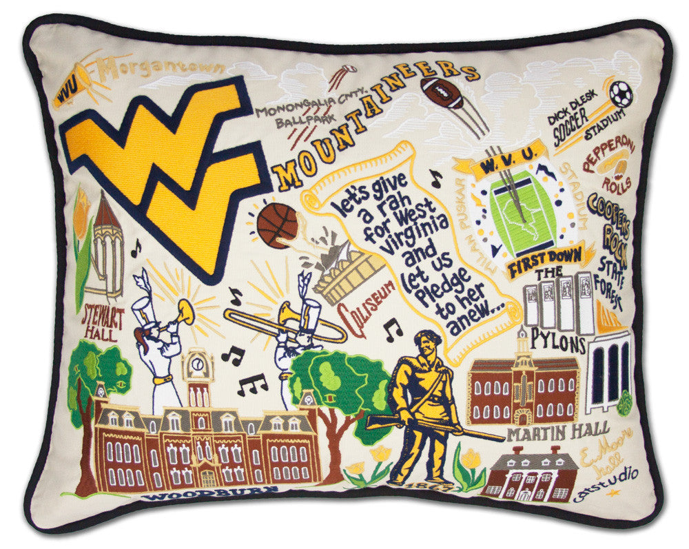 WEST VIRGINIA UNIVERSITY Pillow