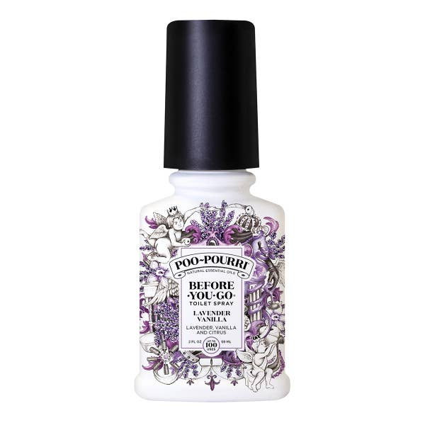 Lavender Vanilla (2oz.) Bathroom Spray