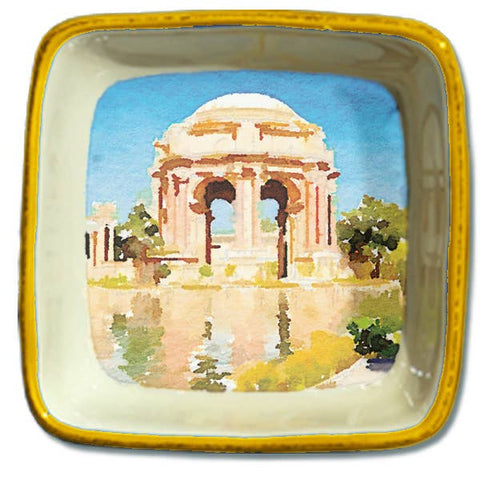 San Francisco Watercolor, Small Trinket Tray