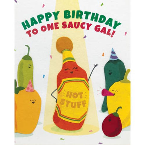 Saucy Gal Birthday