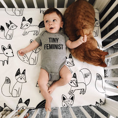 TINY FEMINIST Onesie - Mothers Day Gift - Mothers Day Shirt - Baby Shower Gift - Feminist Baby Onesie - New Mom Gift