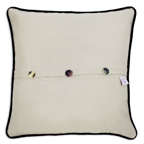 Napa Valley Hand-Embroidered Pillow