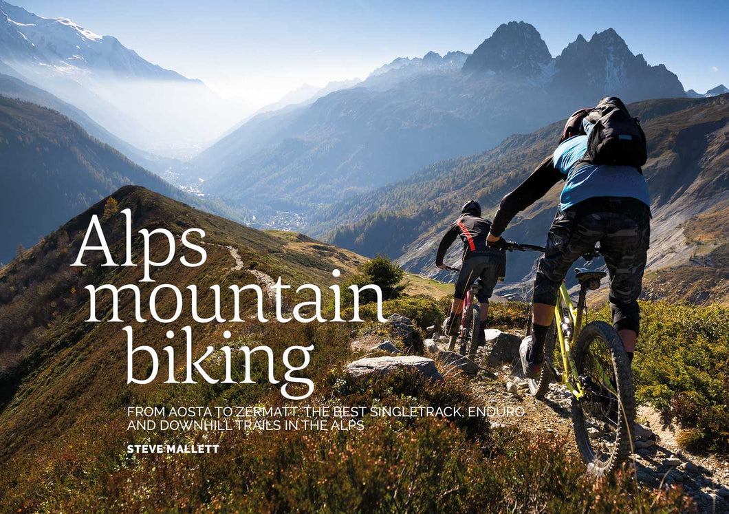 Alps Mountain Biking | Steve Mallet | Backcountry Books