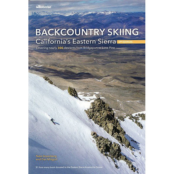 Backcountry Skiing California's Eastern Sierra | Backcountry Books