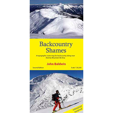 Backcountry Shames | Shames Backcountry Skiing Map & Guide | Backcountry Books