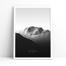 Ben Macdui Wall Print | Mont Minimal | Backcountry Books