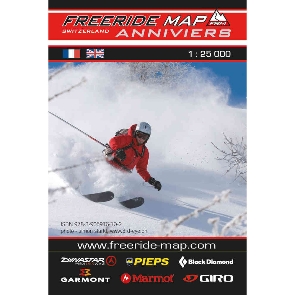Freeride Map Anniviers