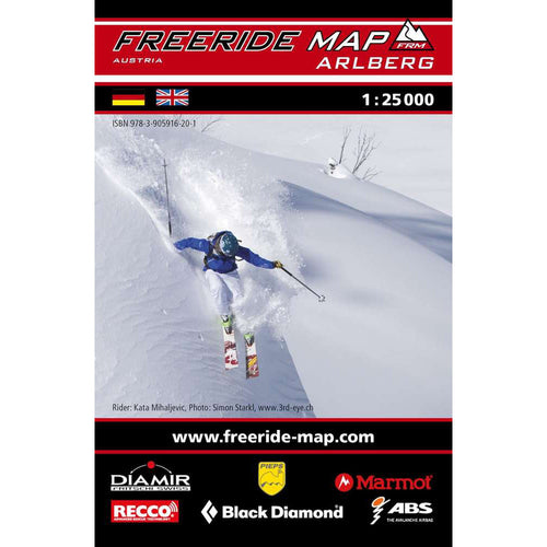 Freeride Map Arlberg