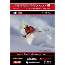 Freeride Map Chamonix Nord