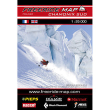 Freeride Map Chamonix Sud