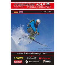 Freeride Map Fieberbrunn