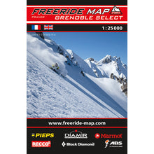 Freeride Map Grenoble Select | Backcountry Books
