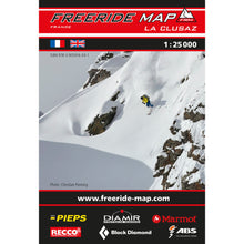 Freeride Map La Clusaz Backcountry Books