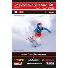 Freeride Map La Plagne Backcountry Books