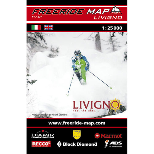 Freeride Map Livigno | Backcountry Books