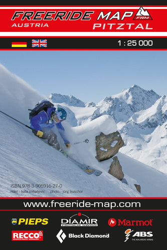 Freeride Map Pitztal | Backcountry Books