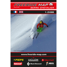 Freeride Map Serre Chavalier
