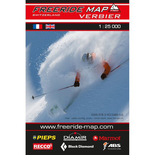 Freeride Map Verbier