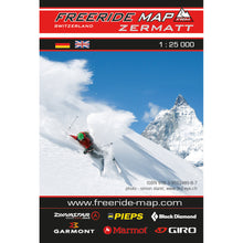 Freeride Map Zermatt