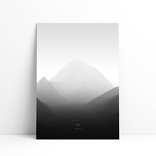 K2 Wall Print | Mont Minimal | Backcountry Books