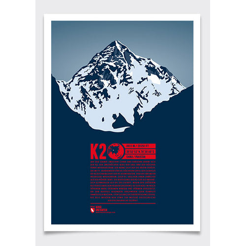 K2 Wall Print Marmota Maps | Backcountry Books