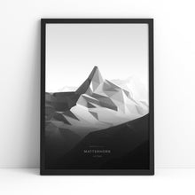 Matterhorn Wall Print | Mont Minimal | Backcountry Books