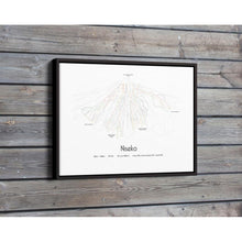 Niseko Piste Map Wall Print Poster | Backcountry Books