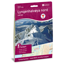 Lyngen Map Nordeca Turkart Lyngenhalvoya Nord North | Backcountry Books
