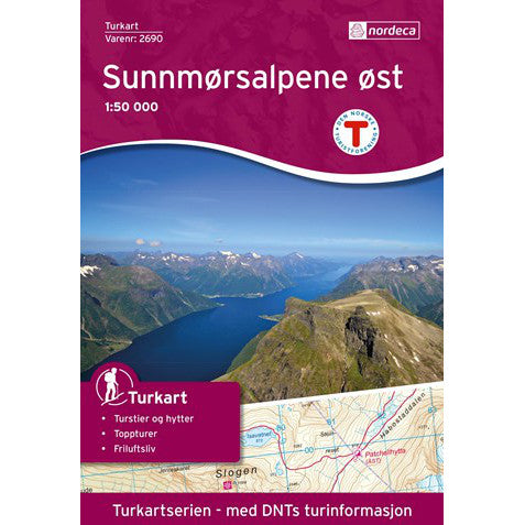 Nordeca Turkart Sunnmoresalpene Ost Map | Backcountry Books
