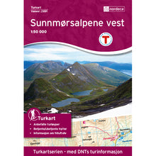 Nordeca Turkart Sunnmoresalpene Vest Map | Backcountry Books