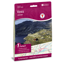 Voss Map | Nordeca Turkart Voss | Backcountry Books