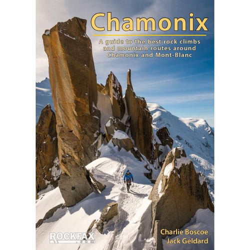 Rockfax Chamonix Guide Book | Backcountry Books
