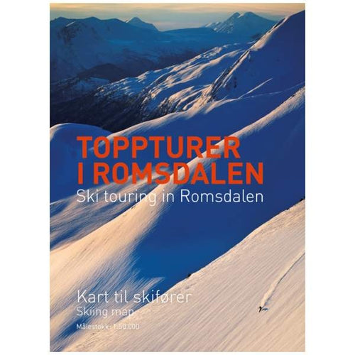 Ski touring in Romsdalen Map | Backcountry Books