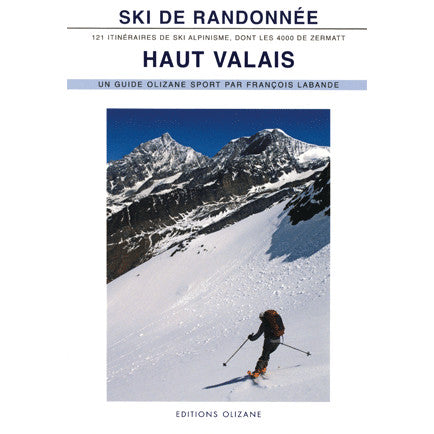 Ski de Randonnee Haut Valais Backcountry Books