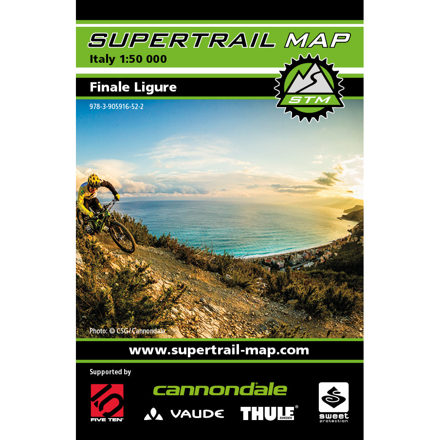 Supertrail Map Finale Ligure | Backcountry Books