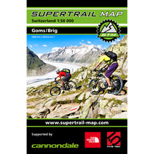 Supertrail Map Goms / Brig | Backcountry Books