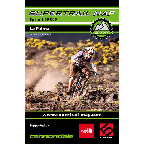 Supertrail Map La Palma | Backcountry Books
